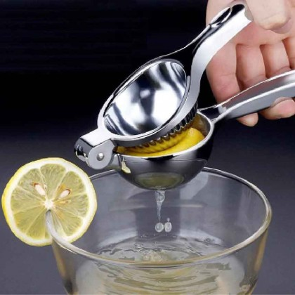 Somax Store !! Lemon Lime Juice Squeezer Presser Stainless Steel Premium Quality Hand Press Fruit Citrus Orange