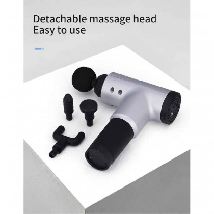 Somax Store !! New Massage Gun Hypervolt Percussion Deep Muscle Exercise Bosster Relief Pain After Training Body Somax Store